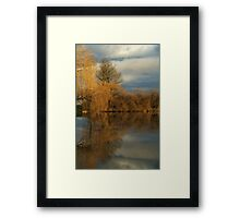 Reflections of Fall Framed Print