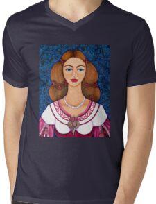 Ines de Castro Mens V-Neck T-Shirt