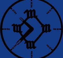 Kanye All Day Clock by Brandon Valdivia
