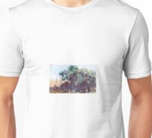 Merging colours - trees - along the Billabong Pyalong Vic Australia Unisex T-Shirt