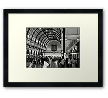You mean I have to post it ??? Framed Print