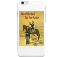 Men Wanted For The Army -- WWI iPhone Case/Skin