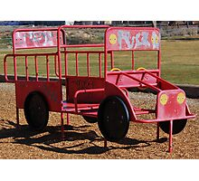 a childs fire engine Photographic Print
