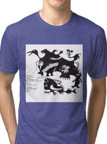 DIIV Oshin Back Artwork Tri-blend T-Shirt