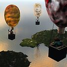 Perfect day for ballooning by vivien styles