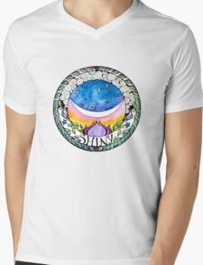 Shiny! Mens V-Neck T-Shirt