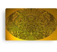 Ancient Egyptian Hieroglyphics Canvas Print