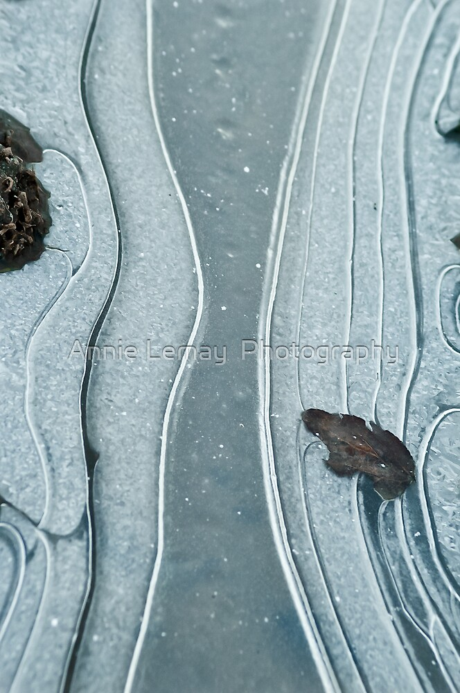 Road Ice by Annie Lemay  Photography