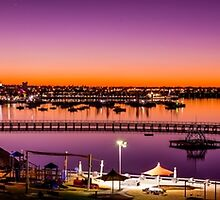Geelong Eastern Beach Sunset by forgantly
