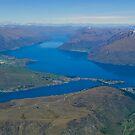 Lake Wakatipu 2 by Werner Padarin