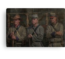 Waiting For Orders Canvas Print