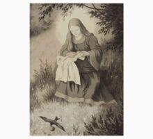 Theodor Kittelsen Jomfru maria og svalen Virgin Mary and swallow Kids Tee