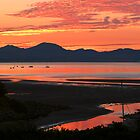 Crimson Sunrise in Abersoch by Turtle  Photography
