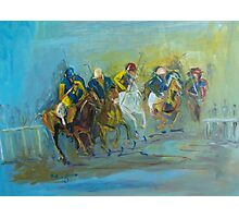 The Polo Game - Victoria Australia Photographic Print