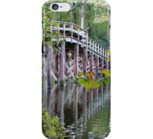 Greenfield Lake Bridge iPhone Case/Skin
