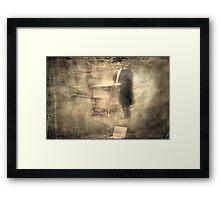 """""""The Organ Grinder ..."""" Framed Print"""