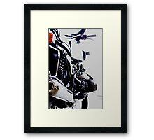 R100 Framed Print