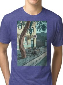 bicycles at the Hotel Tri-blend T-Shirt