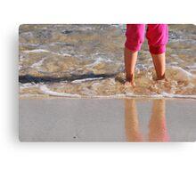 A day at the beach.. Canvas Print