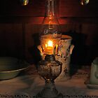 Oil Lamp by Peter Bodiam