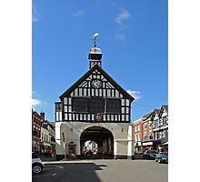 Bridgnorth Town Hall Photographic Print