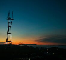 Sutro Sunset by Jenn Ramirez
