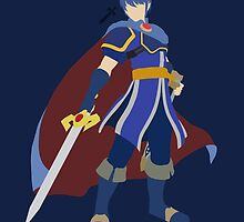 Marth (Blue) - Super Smash Bros. by samaran