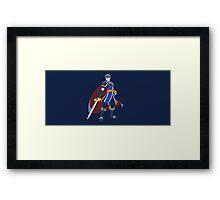 Marth (Blue) - Super Smash Bros. Framed Print