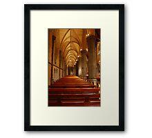 Holy seats Framed Print