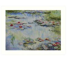 Waterlillies - after Monet Art Print
