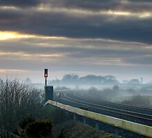 Empty Lines, Co Kildare, Ireland. by 2cimage