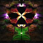Elliptic Splits Tutorial - Butterfly Shrine by Pam Amos