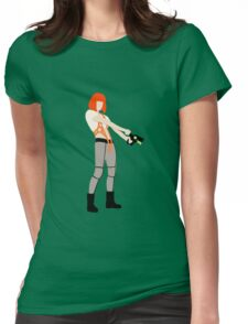 The Fifth Element LeeLoo Womens Fitted T-Shirt