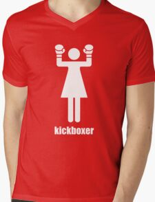 I kick ass Mens V-Neck T-Shirt