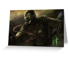 Mortal Kombat - Reptile Greeting Card