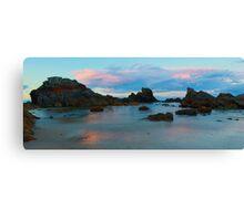 Forster sunset Canvas Print