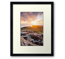 St David's Head, Pembrokeshire, South Wales. Framed Print