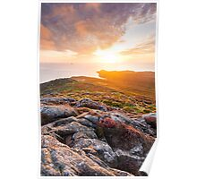 St David's Head, Pembrokeshire, South Wales. Poster