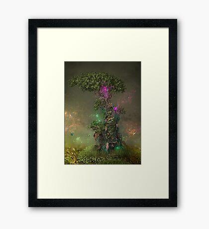 Polonium Tree Framed Print