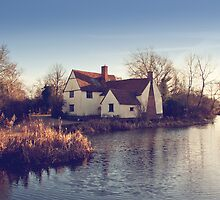 Willie Lotts Cottage - Flatford by Tracey Hill