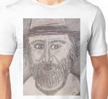coloring book art buy and color it using permanent colors Unisex T-Shirt