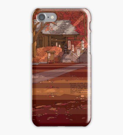 Shrine Autumn iPhone Case/Skin