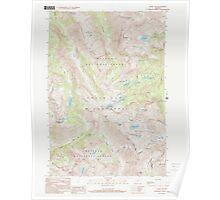 USGS Topo Map Oregon Eagle Cap 279741 1990 24000 Poster