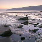 Porth Ceiriad Panoramic sunset by Turtle  Photography