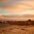 Lights Beach Sundown by pennyswork