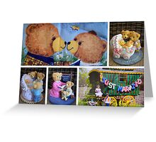 Just Married ~ A Beary Tale Greeting Card