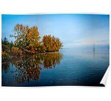 Lakeside Morning... Poster