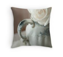 Beauty ~~ as She softly Unfolds Throw Pillow