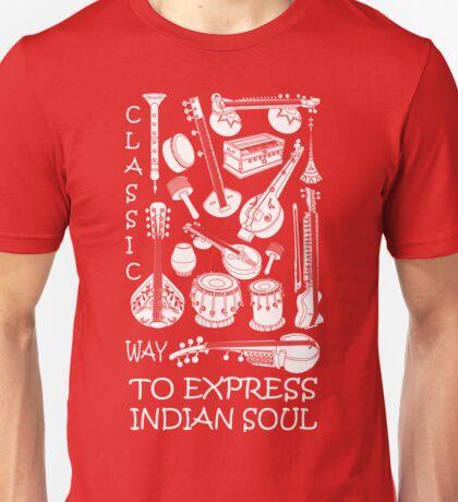 INDIAN CLASSICAL MUSIC Unisex T-Shirt