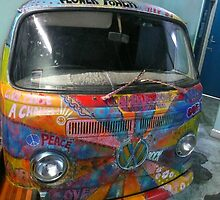 Hippie Van by Margaret  Hyde